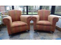 Armchairs (pair)