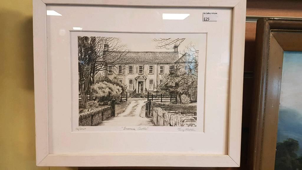 Fine limited Irish Print Terry Tedstone