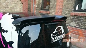 Carlsson Dachspoiler Heckspoiler Smart fortwo 42 Coupe 453 ab 2014
