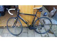 Carrera zelos road bike, large frame