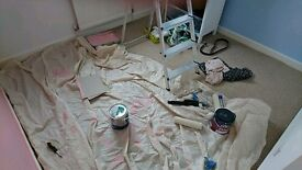 Wanted: Carpet fitted in bedroom (Chepstow)