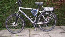Gents Hybrid Electric bike.