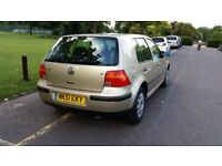 2001 Volkswagen Golf 1.6 SE 5dr Warranted Low Mileage 1F Keeper Full Service History @07725982426 @