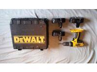 Dewalt combi drill 18v