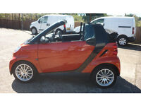 SMART FORTWO 1.0 Passion Cabriolet 2dr Auto (orange) 2008