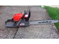 "Mitox chainsaw 3.5 hp 20""blade"