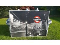 Large London Underground Picture £15 ono