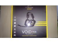 Corsair VOID RGB 7.1 Wireless Gaming Headset