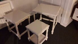 Side Tables / Nest Tables - Upcycled