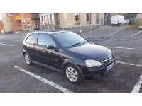Vauxhall Corsa SXI 16v 1.2 3DR Black