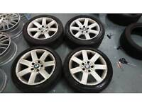 GENUINE BMW 17X8J 5x120 alloy wheels vivaro insignia T5