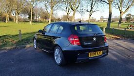 BMW 1 Series 1.6 116i M Sport 5dr, 2008 (08 reg), Hatchback ;;;;;; low mileage 76000 ;;;;;;