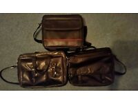 Bundle of Leather Laptop Bags