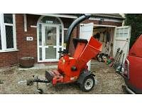 Bearcat 5 onch woodchipper re listed due to timewater