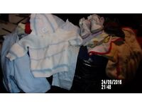 BABY BOYS CLOTHES UP TO 12 MONTHS TWO LARGE BLACK BAGS -BARGAIN