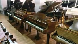 Marshall & Rose Mahogany Baby Grand Piano by Sherwood Phoenix Pianos