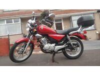 Yamaha YBR 125cc Custom, full MOT