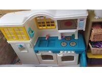 Kids play kitchen, little tikes