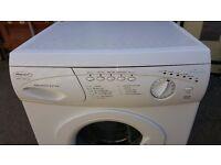 Hotoint Aquarius Extra power stream washing machine p.w.o.