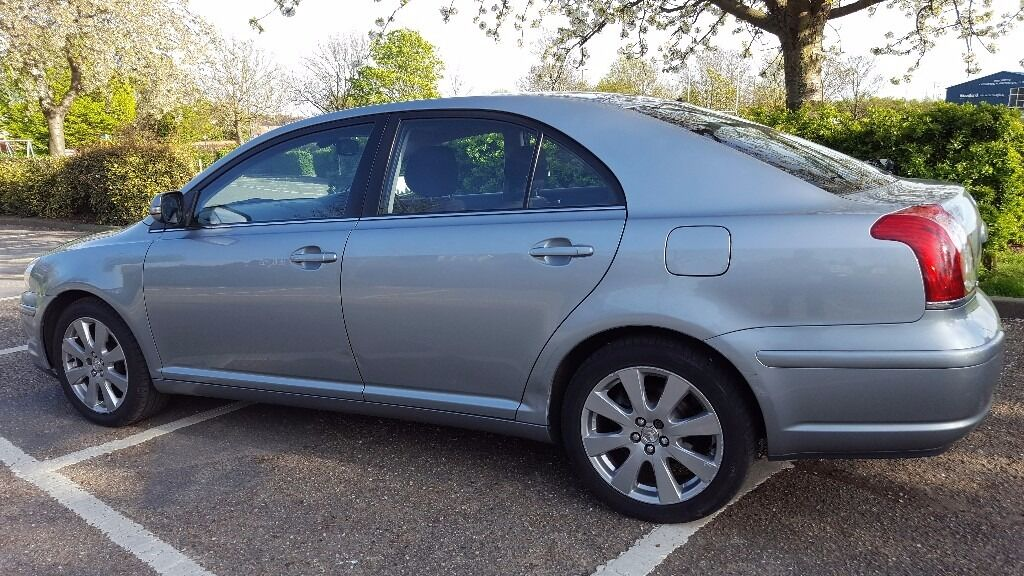 2008 toyota avensis 2 0 d4d mot november 2017 road tax 2 previous owners in chelmsford. Black Bedroom Furniture Sets. Home Design Ideas