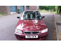 Honda Civic 1,4lt automatic, red, total 84463ml, 3keys, HPI clean, full service history, 2pr.owners
