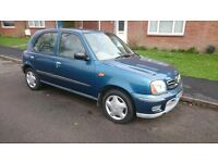 Nissan micra Auto very low mileage