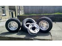 Quad bike wheels tyres 10 inch