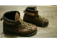 Caterpillar walking boots