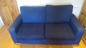 16 August -Blue sofa (moving home!)