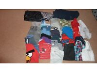 Boys Clothes Bundle aged 8-9yrs. 29 Items