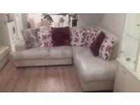 Four seater sofa and a corner sofa