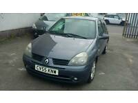 55 PLATE RENAULT CLIO. 1.2 PETROL. IDEAL FIRST CAR
