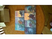 GREAT COLLECTION OF C.S. LEWIS CHRONICLES OF NARNIA IN HARDBACK NEW UNREAD LOVELY SET £15 THE LOT