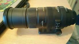 Sigma 150-500mm 1:5-6.3 apo hsm telephoto lens canon fit