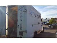 Catering van with all nessasery equipment