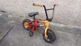 Rocker BMX bike.