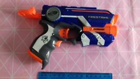 Nerf hand gun
