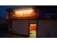 LEASEHOLD FOR SALE KEBAB TAKEAWAY