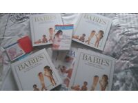REDUCED - Having Babies series, 100 issues/4 lever arch files & books in Swansea