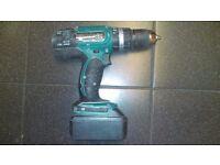 Makita 2 speed Hammer Drill 18v