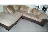Corner Sofa & puff