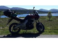 Kawasaki KLE650 Versys 2012 for Sale with low mileage and extras