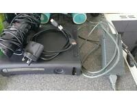 Xbox 360 120 gb with kinect