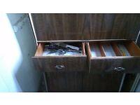 Vintage, antique, retro, kitchen dresser, pantry cabinet, cupboard, store, shabby chic, DIY