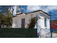 Zakynthos Detached Whitewashed House with Garden 10 minutes from Golden Sandy Beach