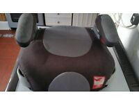 GREY & BLACK CHILDS BOOSTER SEAT