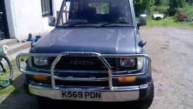 Land Cruiser Prado LJ78 1993 2.4 Auto