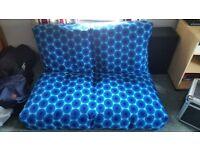 IKEA BLUE BLOW UP SOFA /MATRESS