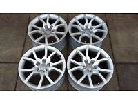 "AUDI A5 18"" GENUINE SPEEDLINE SL2003 ALLOYS 8T0601025E (BRAND NEW TYRES OPTION)"