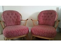 2 x Conservatory arm chairs